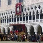Filming 'Casanova' in Venice